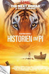 Historien om Pi plakat