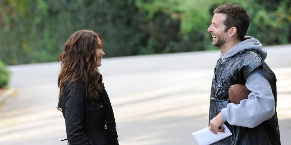 Jennifer Lawrence og Bradley Cooper i Silver Linings Playbook