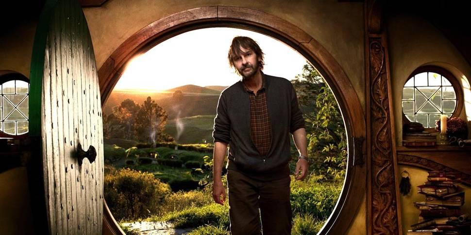 Peter Jackson ved starten av innspillingen av Hobbiten
