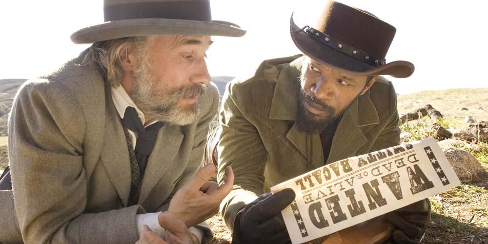 Christoph Waltz og Jamie Foxx i Django Unchained