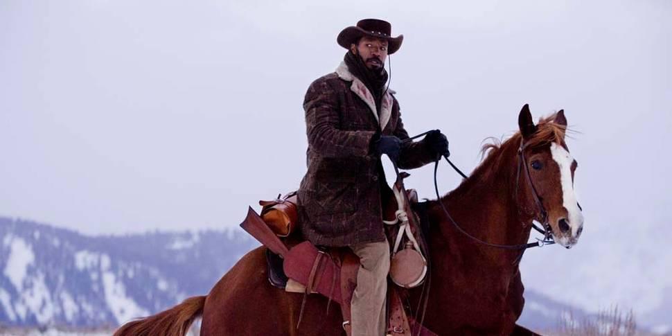Jamie Foxx som Django i Django Unchained