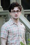 Daniel Radcliffe på settet til Kill Your Darlings