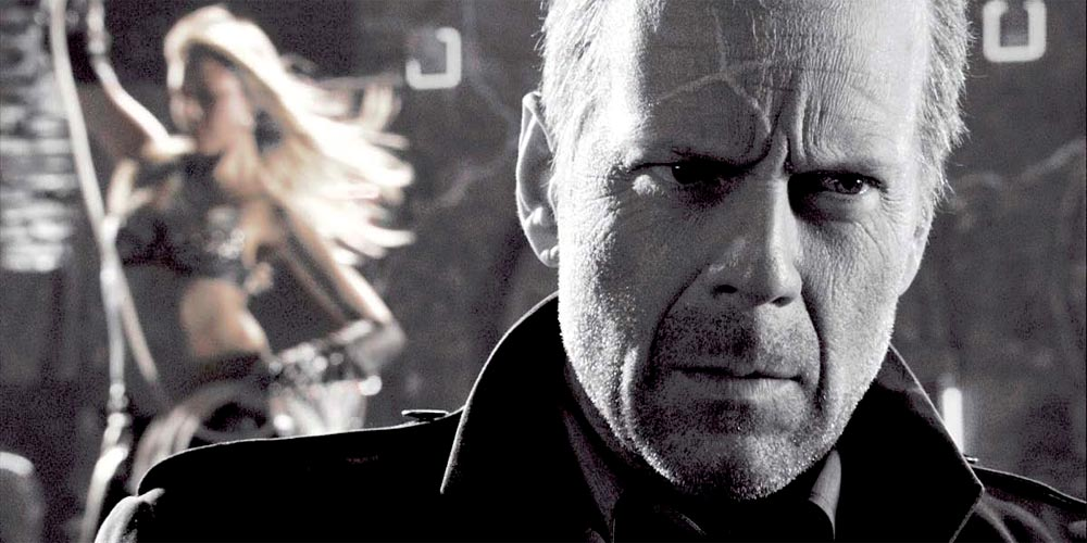 Bruce Willis som Hartigan i Sin City (2005)