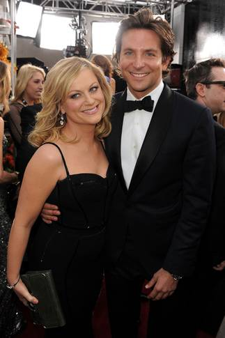 Amy Poehler og Bradley Cooper under Screen Actors Guild Awards 2013