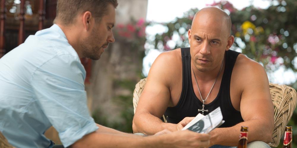 Paul Walker og Vin Diesel i Fast and Furious 6