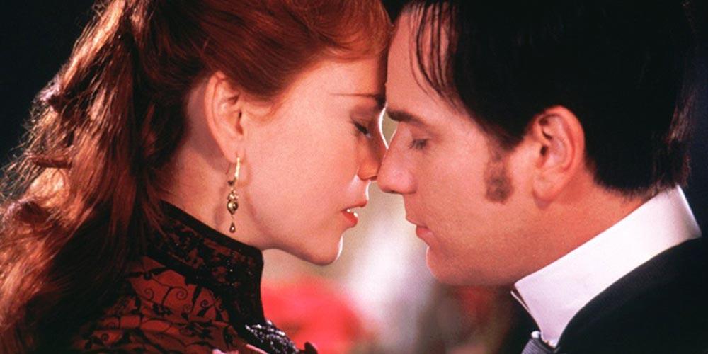 Nicole Kidman og Ewan McGregor i Moulin Rouge