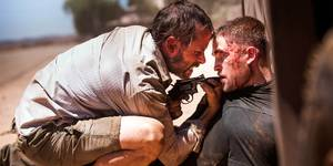 Guy Pearce og Robert Pattison i The Rover