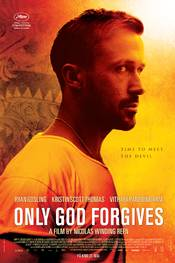 Only God Forgives norsk plakat
