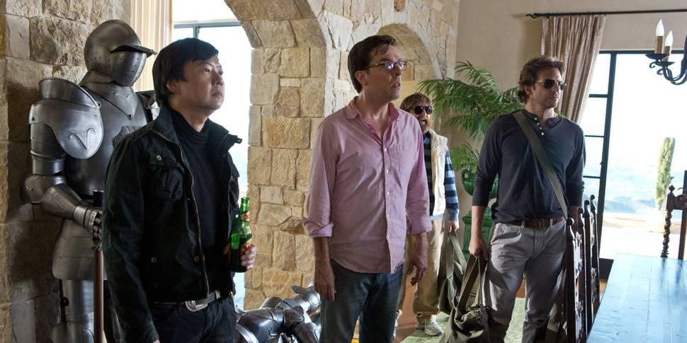 Ken Jeong, Ed Helms og Bradley Cooper i The Hangover Part III