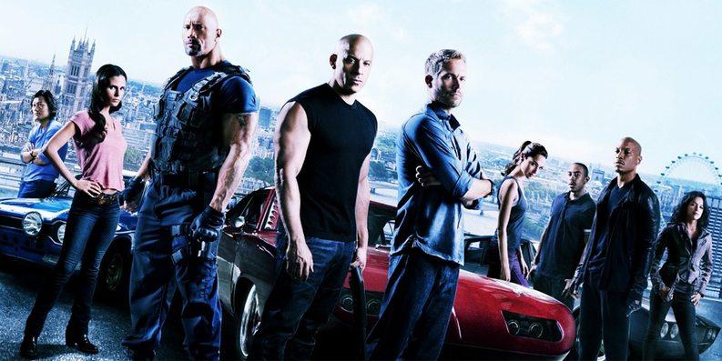 Gjengen i Fast & Furious 6