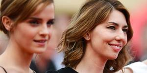 Sofia Coppola og Emma Watson på Cannes-premieren til The Bling Ring