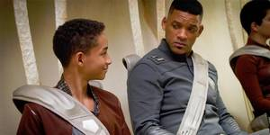Jaden Smith og Will Smith i After Earth