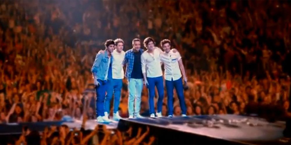 Louis, Liam, Harry, Zayn og Niall i One Direction