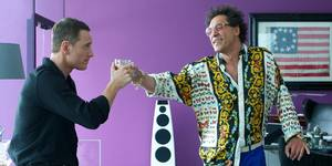 Michael Fassbender og Javier Bardem, The Counselor