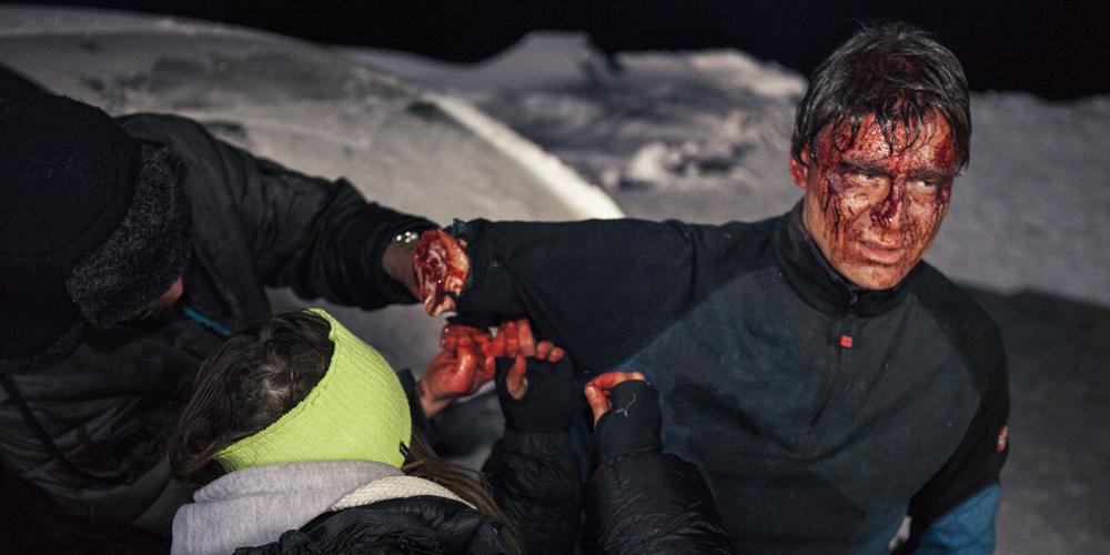 Død Snø 2, stillbilder fra innspilling