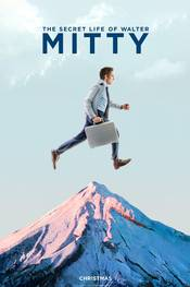 The Secret Life of Walter Mitty, teaserposter