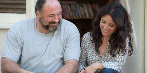 James Gandolfini og Julia Louis-Dreyfus i Enough Said