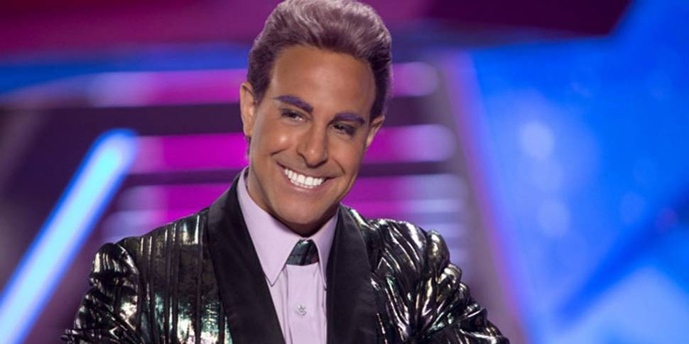 Caesar Flickerman (Stanley Tucci) i The Hunger Games: Catching Fire