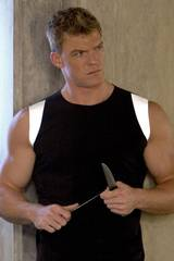 Gloss (Alan Ritchson) i The Hunger Games: Catching Fire