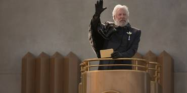 Donald Sutherland i The Hunger Games: Catching Fire