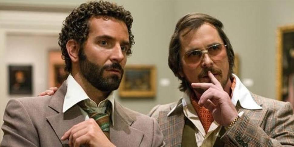 Bradley Cooper og Christian Bale i American Hustle