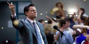 Leonardo DiCaprio i The Wolf of Wall Street