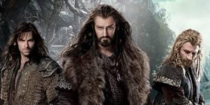 Noen av dvergene i Hobbiten: Smaugs ødemark