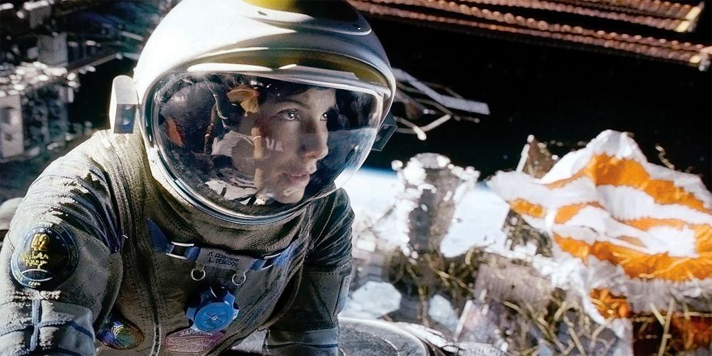 Sandra Bullock i Gravity