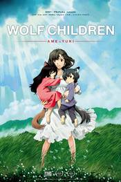 Wolf Children Plakat