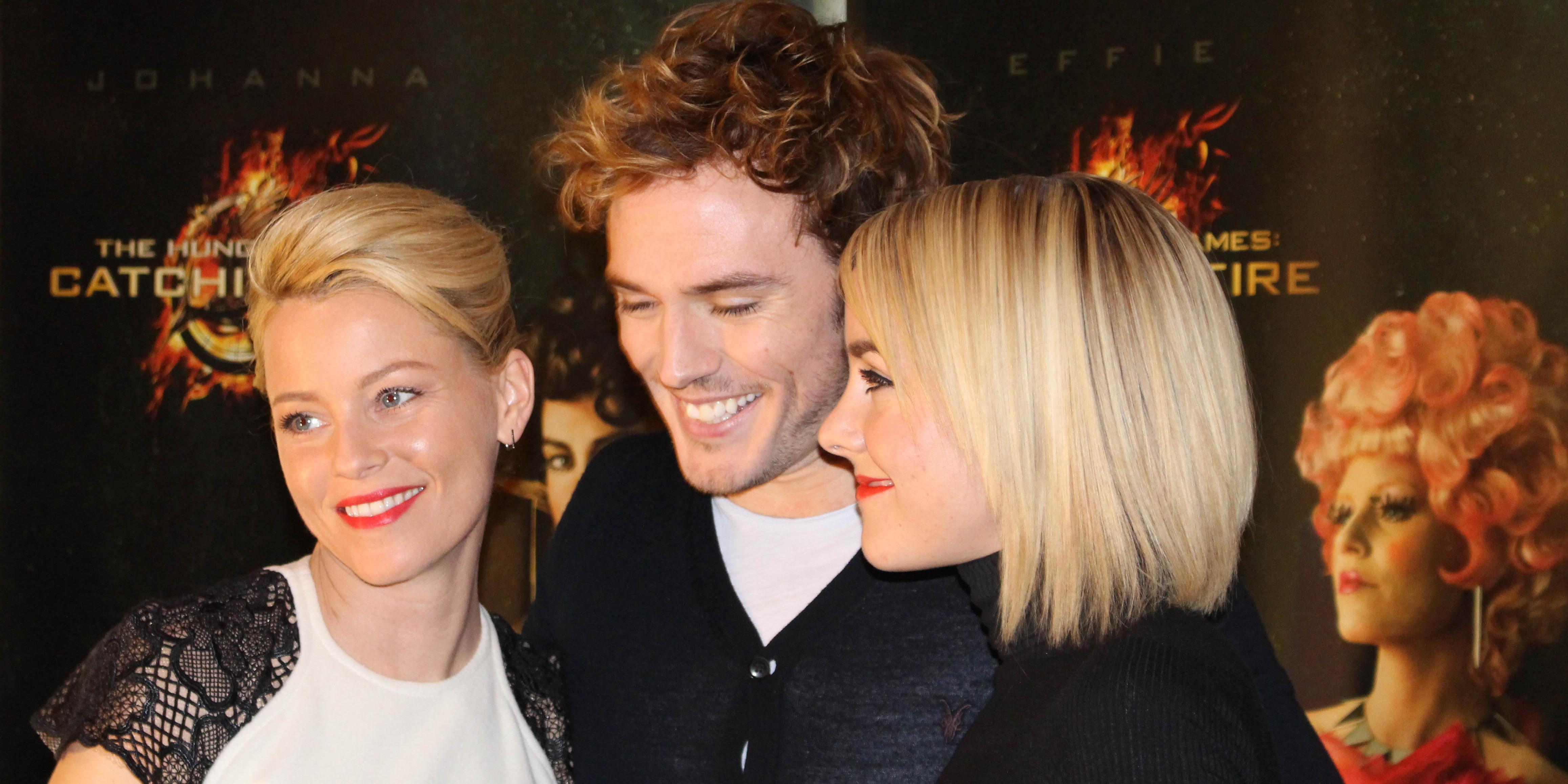 Elizabeth Banks, Sam Claflin og Jena Malone møter pressen i Oslo i forbindelse med premieren på The Hunger Games: Catching Fire