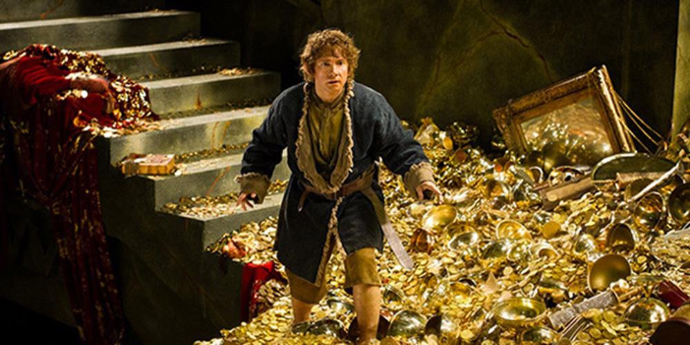 Martin Freeman som Bilbo Baggins i Hobbiten: Smaugs ødemark