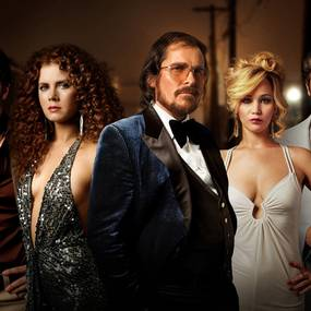 Bradley Cooper, Amy Adams, Christian Bale, Jennifer Lawrence, Jeremy Renner - American Hustle