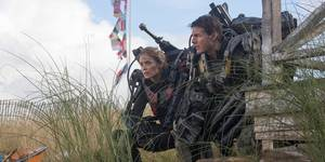 Emily Blunt og Tom Cruise - Edge of Tomorrow
