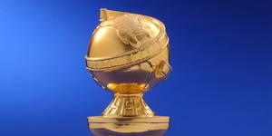 Toppen av Golden Globe-statuetten