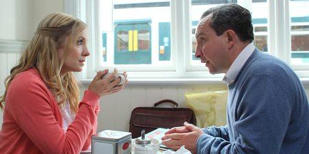 Joanne Froggatt og Eddie Marsan i Still Life