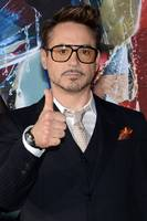 Robert Downey Jr. på premieren til Iron Man 3