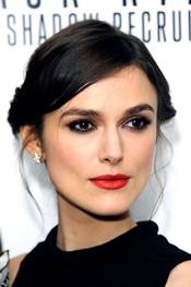 Keira Knightley på premieren til Jack Ryan: Shadow Recruit i London
