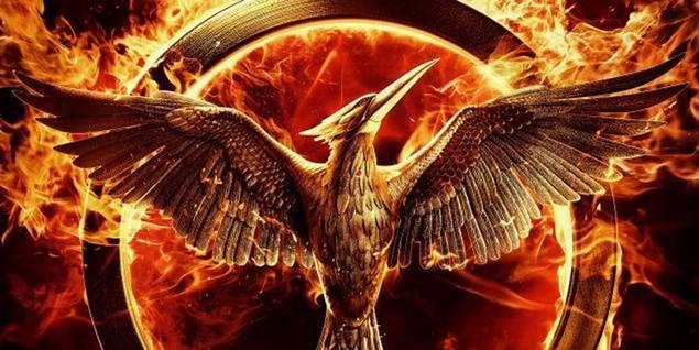 Fra plakaten til The Hunger Games: Mockingjay Part 1