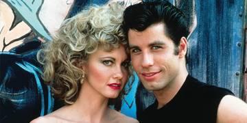 Olivia Newton-John og John Travolta i Grease