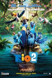 RIO 2 - norsk plakat