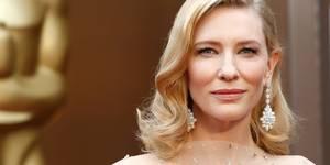 Cate Blanchett under Oscar-utdelingen 2014