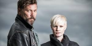Stig Henrik Hoff og Lena Kristin Ellingsen i Glassdukkene