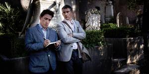 Rob Brydon og Steve Coogan i The Trip to Italy