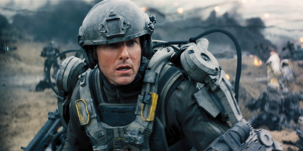 Tom Cruise i Edge of Tomorrow