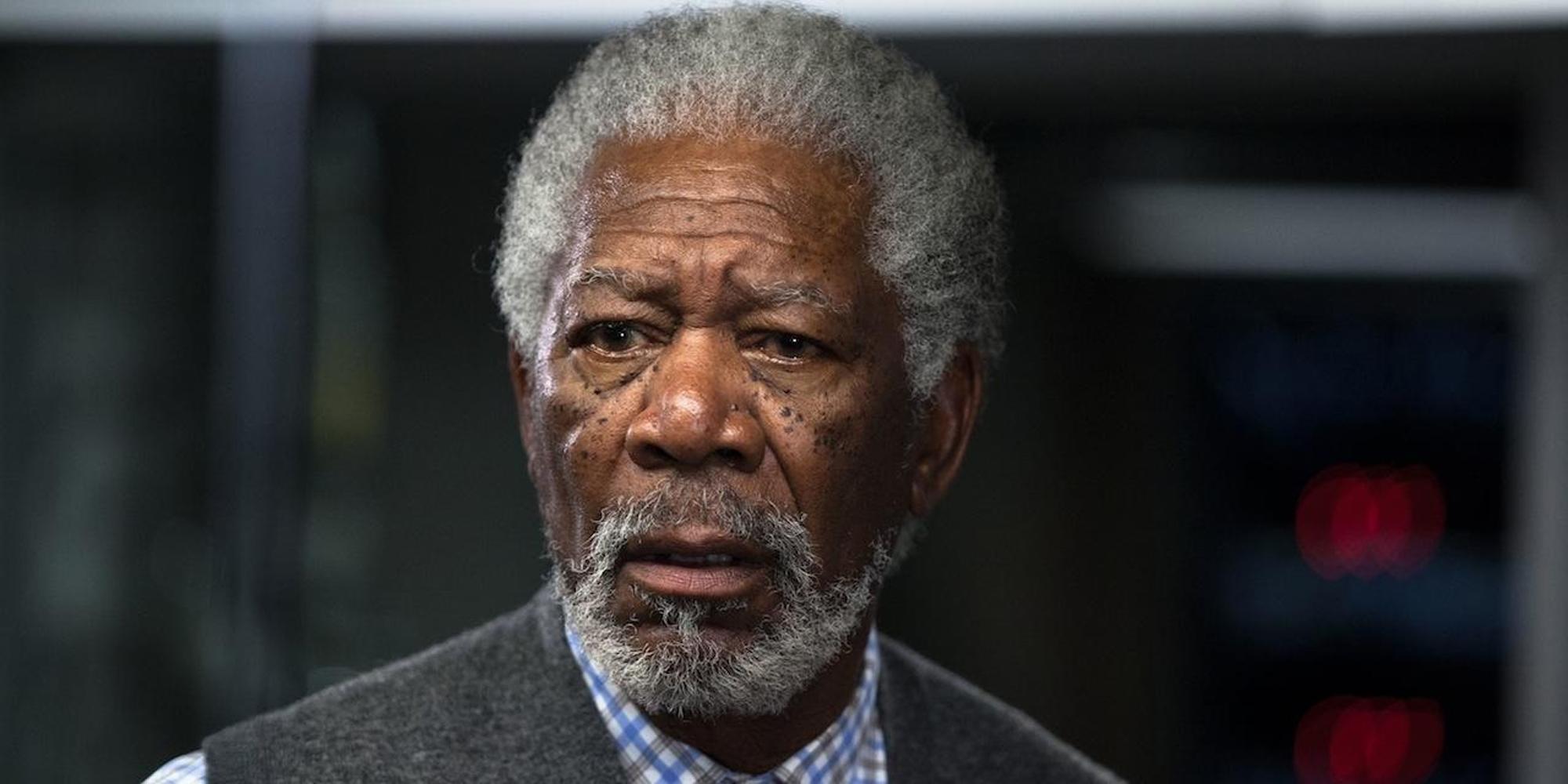 Morgan Freeman i Transcendence