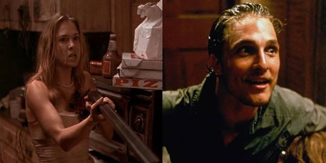 Renee Zellweger og Matthew McConaughey i Texas Chain Massacre: The Next Generation