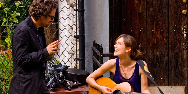 Mark Ruffalo og Keira Knightley i begin Again