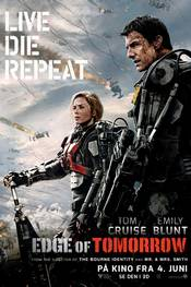 Edge of Tomorrow - plakat