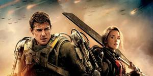 Tom Cruise og Emily Blunt i Edge of Tomorrow