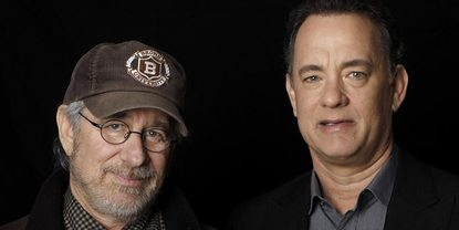 Steven Spielberg og Tom Hanks